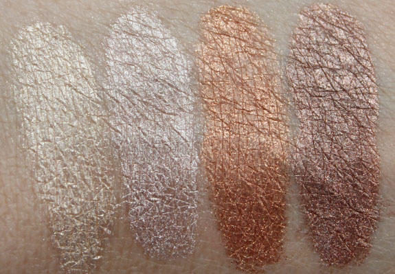 theBalm Overshadow Swatches
