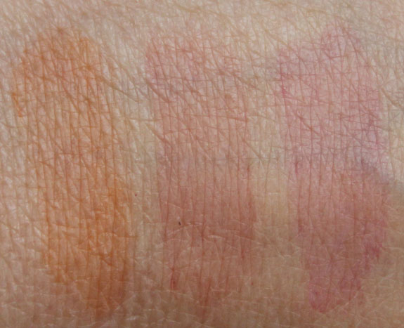 theBalm Stainiac blended swatch