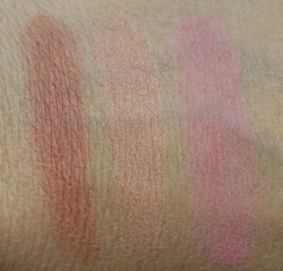 Buxom True Hue Blush Swatches