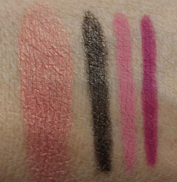 MAC Tropical Taboo Swatches