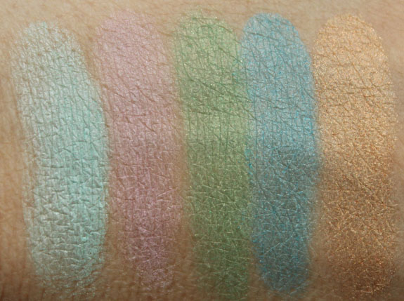 Wet n Wild Fergie Photo Op Eyeshadow Shades of the Hamptons Swatches