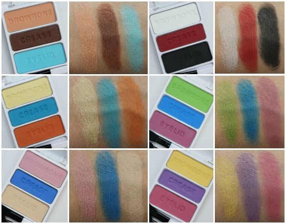 Wet n Wild Pop Art Coloricon Eye Shadow Trio Collage