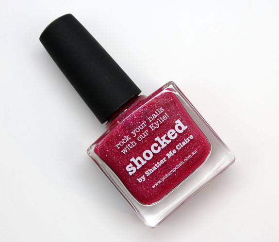 piCture pOlish Shocked Bottle