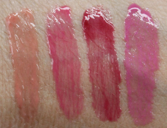 Almay Color Care Liquid Lip Balm Swatches