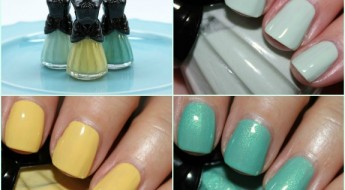 Anna Sui Nail Color Collage