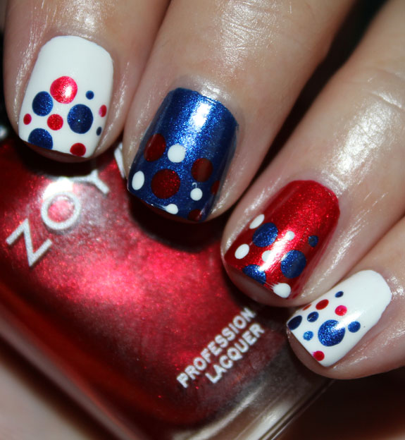 Fourth of July Mani-2