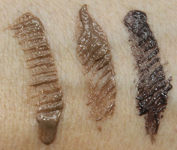 Nars Brow Gel And Brow Perfector Swatches And Review