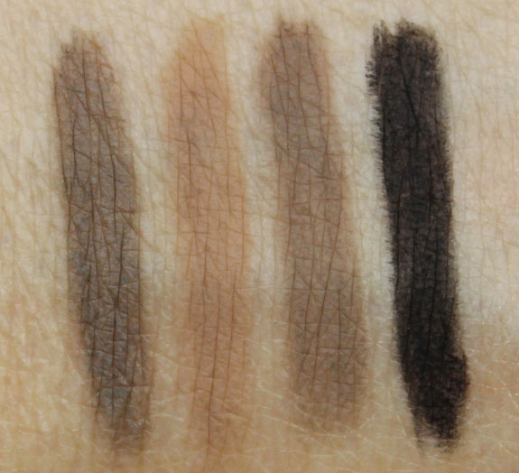 NARS Brow Perfector Swatches