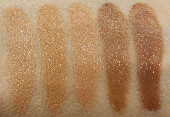NARS Radiant Cream Compact Foundation Swatches-3