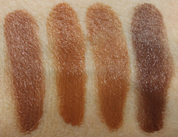 NARS Radiant Cream Compact Foundation Swatches-4