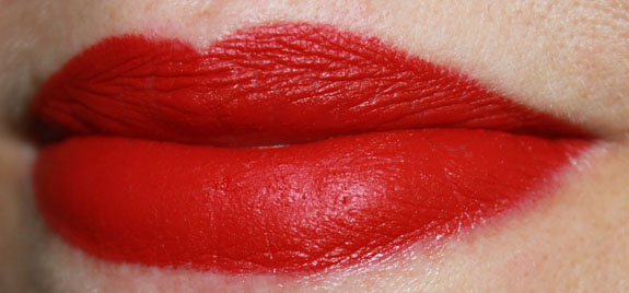 NARS Velvet Matte Lipstick in Mysterious Red