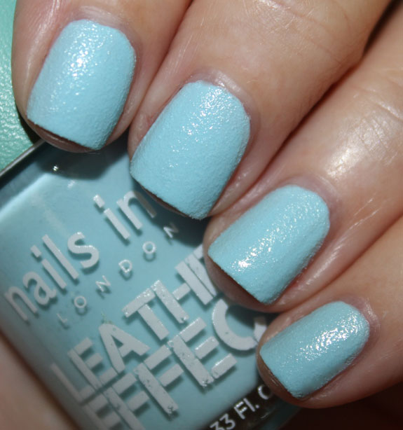 Nail Escapades Polishers Inc: Nails Inc. Leather Effect Nail Polish In Dalston And Old