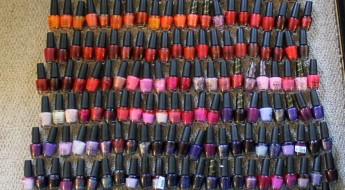 OPI Collection as of July 2013