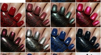 OPI San Francisco Collage