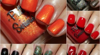 Pretty Serious Hit The Road Polish Collection Collage