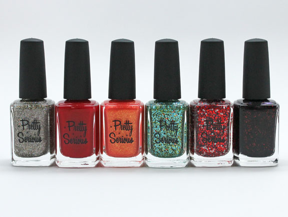 Pretty Serious Hit The Road Polish Collection