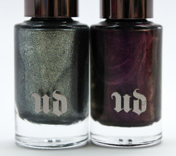Urban Decay Nail Color in Vice and Addicted-2