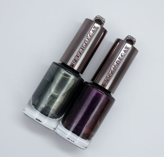 Urban Decay Nail Color in Vice and Addicted