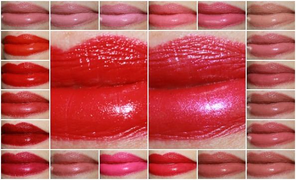 Urban Decay Revolution Lipstick Collage
