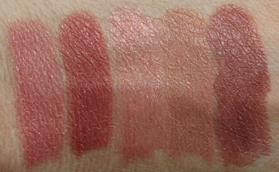 Urban Decay Revolution Lipstick Swatches