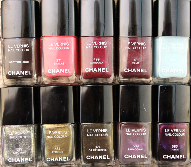 Chanel Nail Colour Collection-5