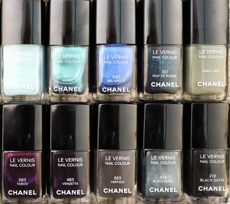 Chanel Nail Colour Collection-6