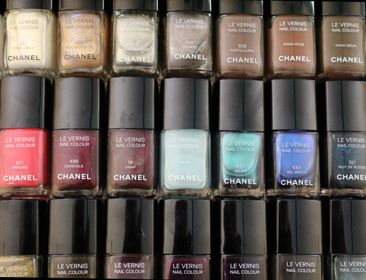 Chanel Nail Colour Collection-7