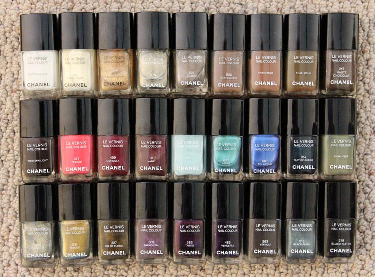 Chanel Nail Colour Collection