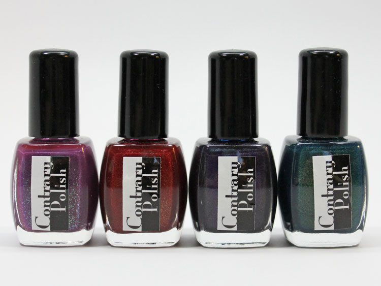 Contrary Polish Color Context and Gift Wrap