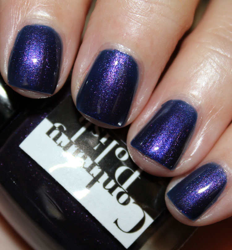 Contrary Polish Indigo Rose