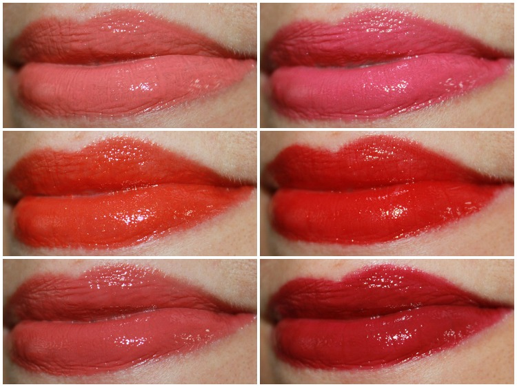 Estee Lauder Pure Color High Intensity Lip Lacquer Collage