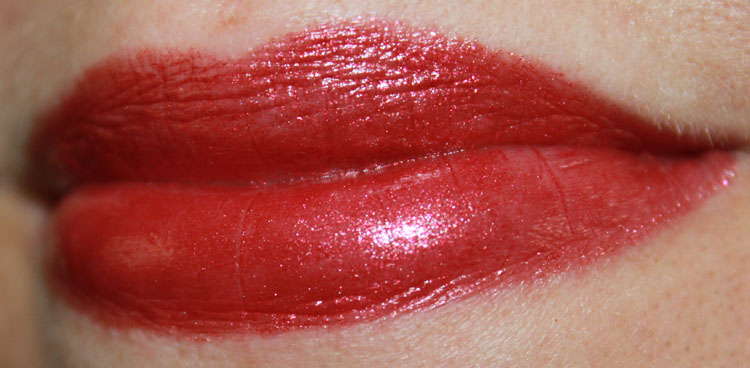 Estee Lauder Pure Color Vivid Shine Lipstick in Hot Lava
