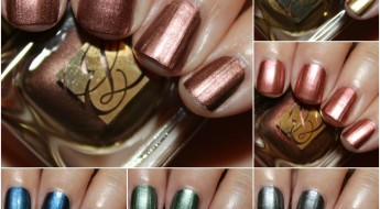 Estee Lauder The Metallics Nail Lacquer Collage