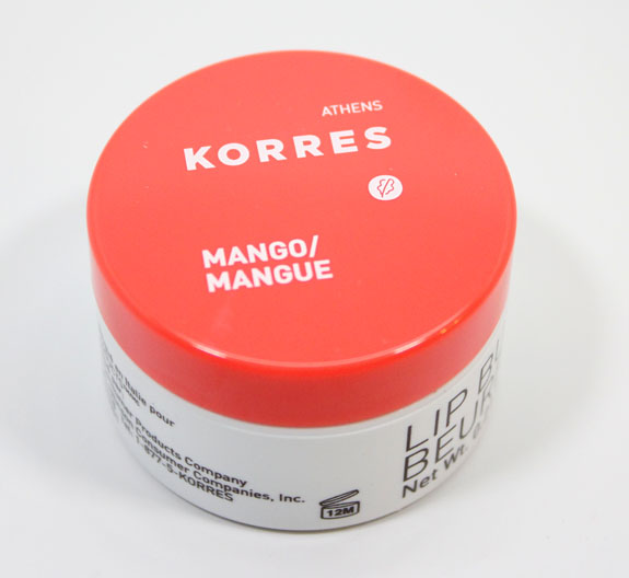Korres Lip Butter in Mango