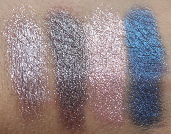 MAC Pressed Pigment Swatches Wet