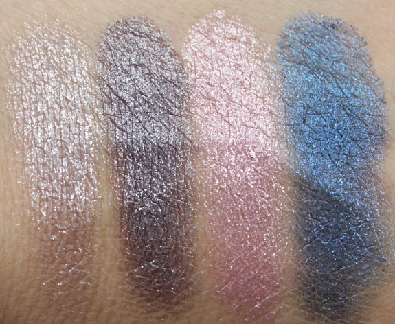 MAC Pressed Pigments Swatches