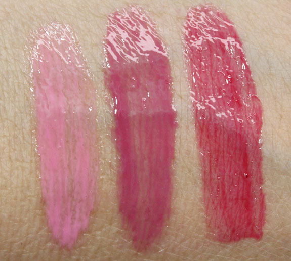 MAC Sheen Supreme Lipglass Tint Swatches MAC So Supreme Collection Swatches and Review