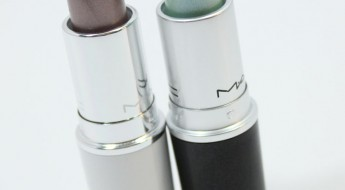 MAC Soft Sable and Summer Shower Lipstick-2