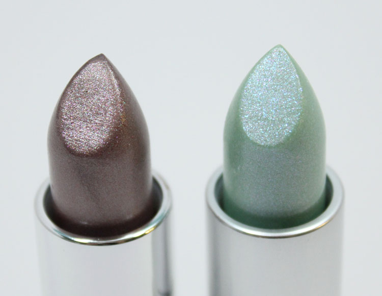 MAC Soft Sable and Summer Shower Lipstick-3