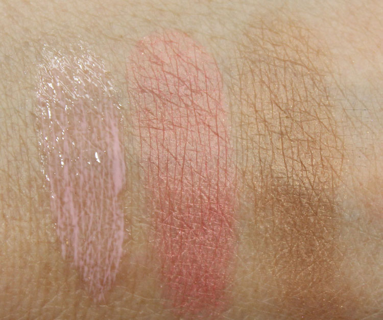 NARS Loves Los Angeles Eye and Cheek Palette Swatches