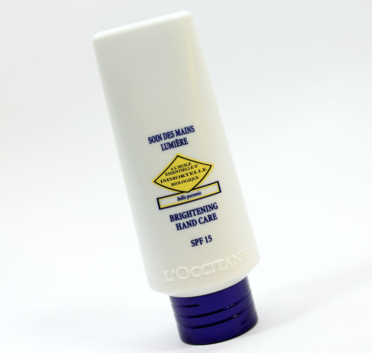 L'Occitane Immortelle Brightening Hand Care SPF 15