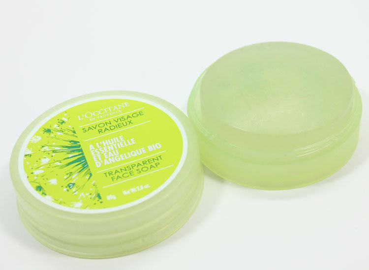 L'Occitane Angelica Transparent Face Soap-3