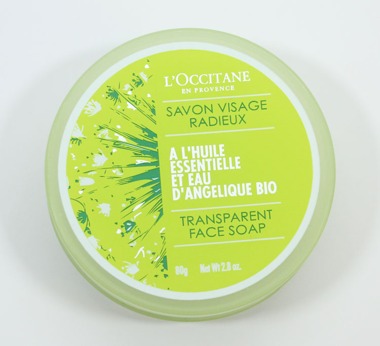 L'Occitane Angelica Transparent Face Soap