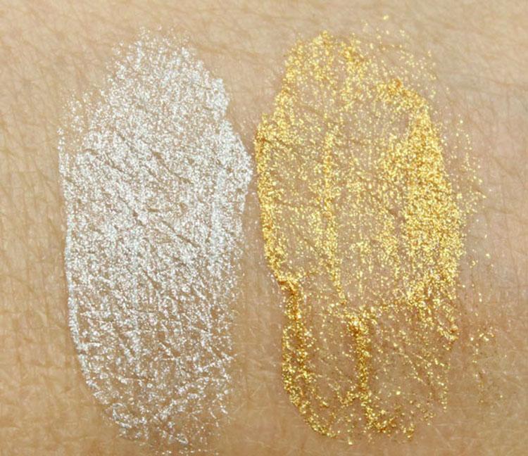 Too Faced Glitter Glaze Swatches