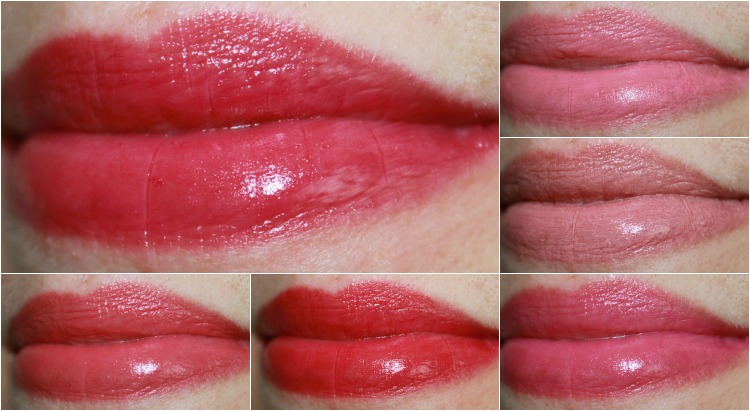 Too Faced Lip Injection Moisture Plumping Lip Tint Collage