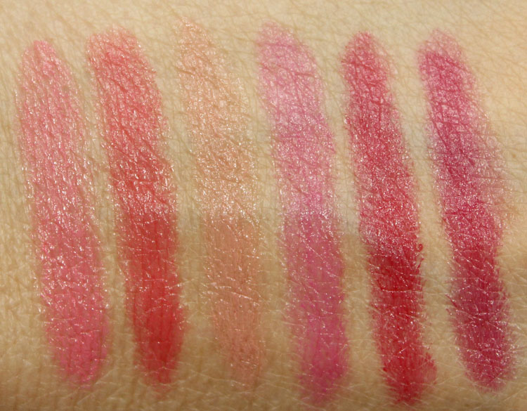 Too Faced Lip Injection Moisture Plumping Lip Tint Swatches