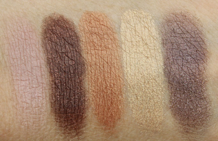Anastasia Catwalk Eye Shadow Palette Swatches-2