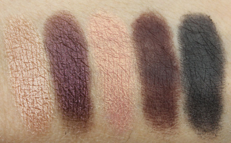 Anastasia Catwalk Eye Shadow Palette Swatches