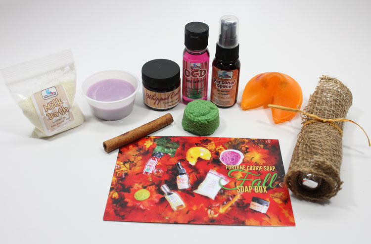 Fortune Cookie Soap Box for Fall 2013