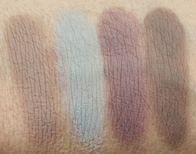 MAC Pro Longwear Paint Pot Swatches